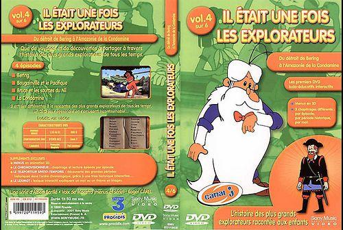 il etait une fois les explorateurs - Dvd Volume 05