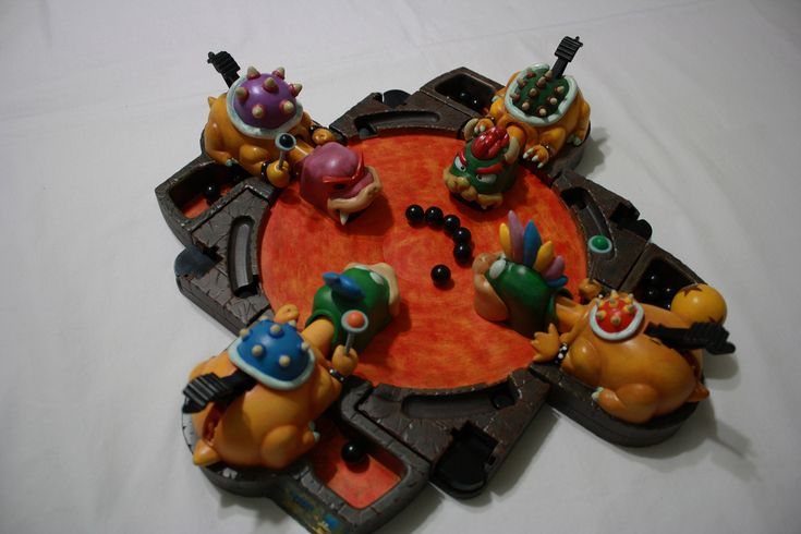 RÉTRO NOUVEAU — HUNGRY HUNGRY HIPPOS version MARIO BROS! ...