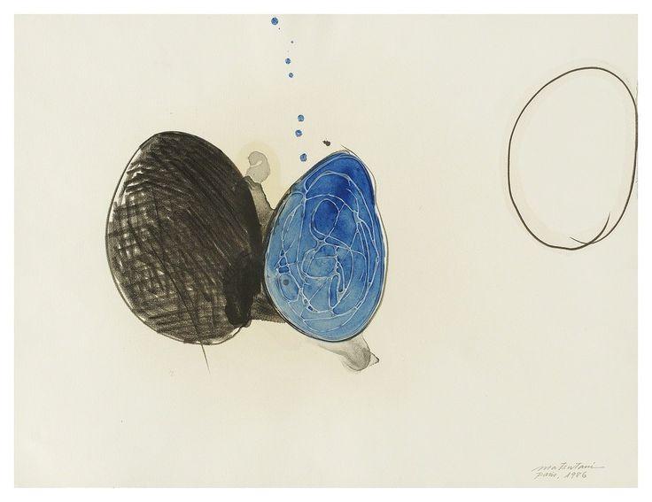arpeggia - Takesada Matsutani - Untitled, 1986, graphite,...