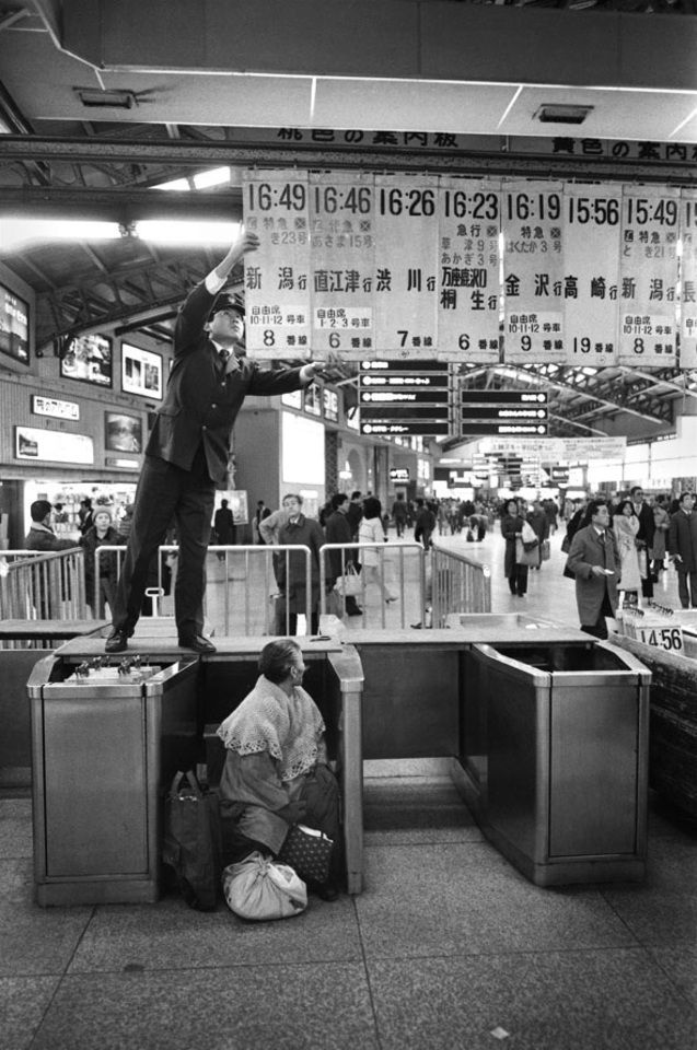 上野駅の幕間 / 本橋成一