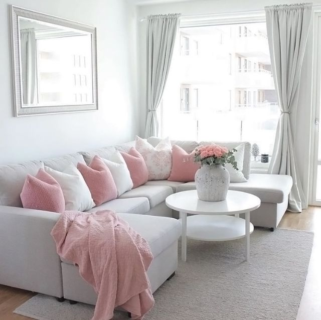 Best 25 Pink Living Rooms Ideas On Pinterest Pink Live 400 x 300