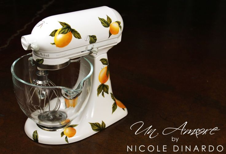 1000 images about my artwork on pinterest kitchen aid mixer roosters and stand mixers - Decorated kitchenaid mixer ...