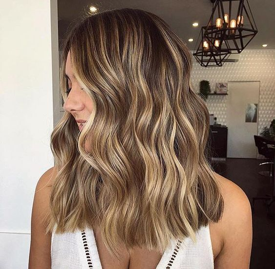 Remy Tape in Hair Extensions Brown with Blonde Color