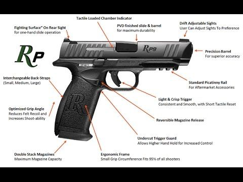 New Release Remington RP9 and RP45 Striker Fired Hand Gun 9mm and .45 ACP