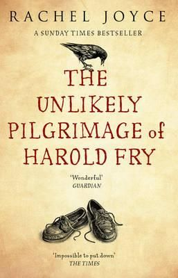 The Unlikely Pilgrimage of Harold Fry by Rachel Joyce. Read by Karen M. I think my favourite of the holidays. Harold is retired. He goes out one day to post a letter and keeps walking.