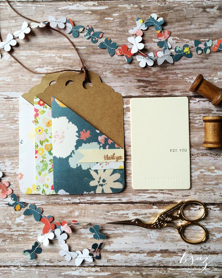 BSaz Creates | Gift Card Holder Tag for Silhouette America