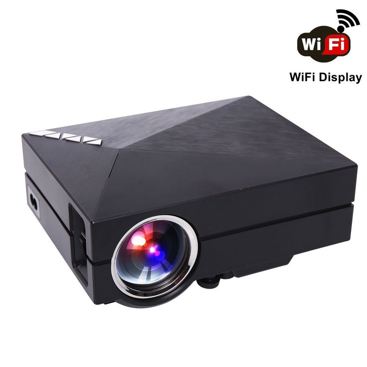 WiFi Wireless Projector, Edeelink GM60A Wireless: Amazon.co.uk: Electronics