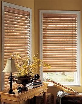 Wooden blinds from Alternate Solutions