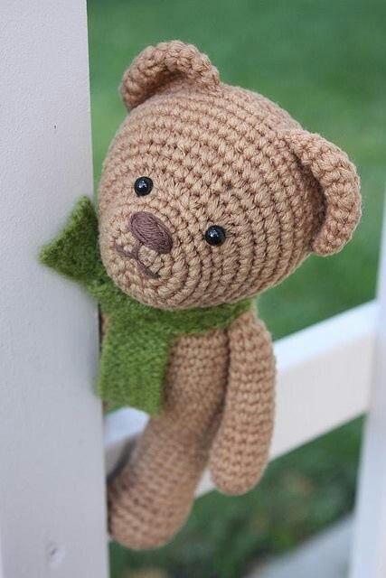 Amigurumi Big Bear : #urso #Amigurumi #croche #CoatsCorrente Inspirac?es ...
