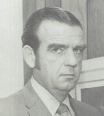 1970 yearbook photo of Dr. Ken Osborn, the superintendent of Agoura high school in Agoura Hills, California.  #1970 #Agoura #yearbook