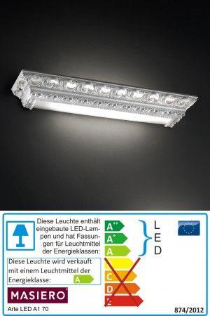 Artè A1 70 LED Wandleuchte von Masiero