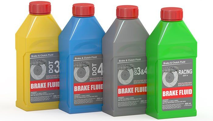Brake Fluid Comparisons Brake Fluid Hydraulic Fluid Commercial