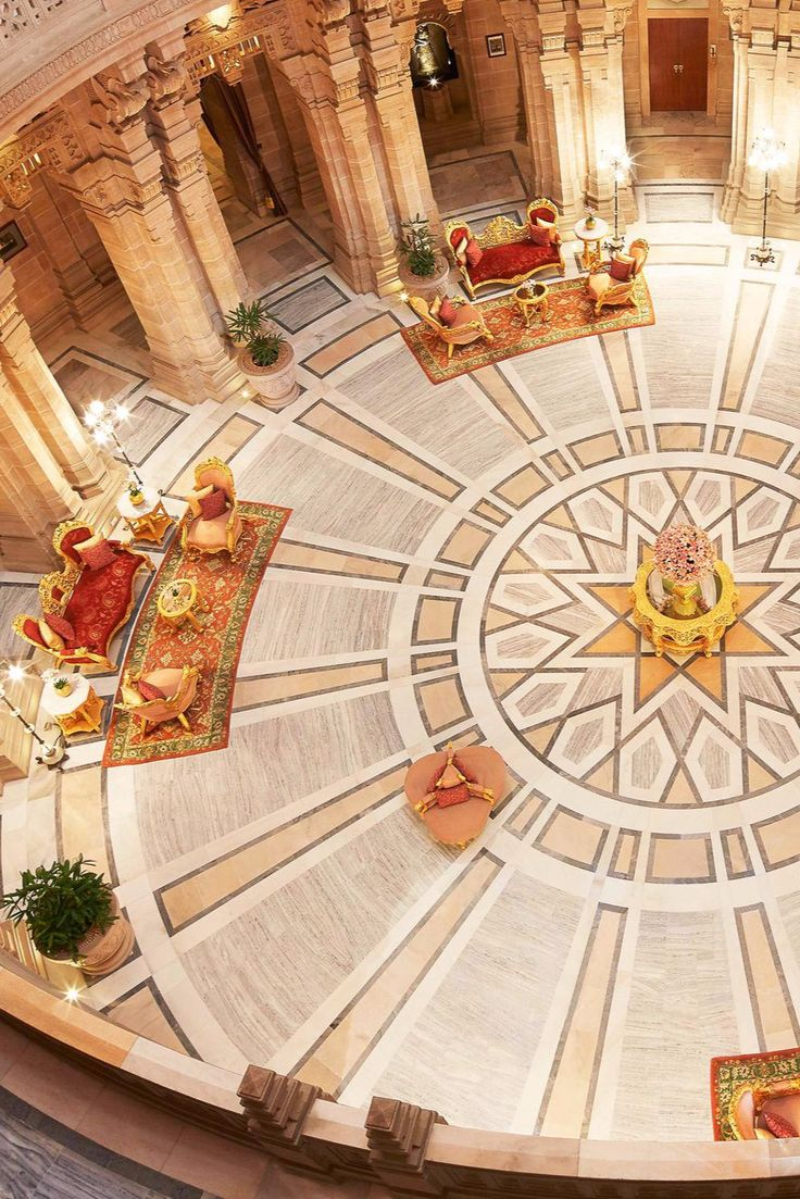This majestic retreat blends Eastern and Western architecture. Umaid Bhawan Palace (Jodhpur, India) - Jetsetter