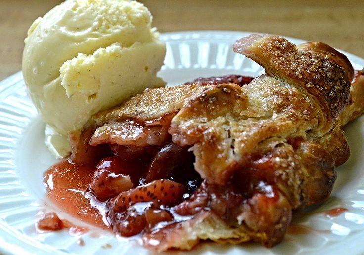 Four and Twenty Blackbirds Strawberry Balsamic Pie-Famous Fridays — Unwritten Recipes
