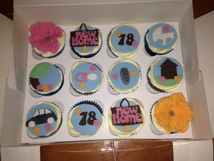 Moving house/baby cupcakes