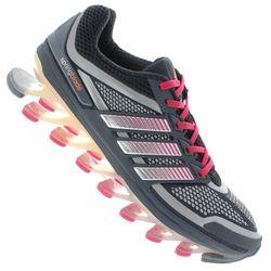 Tênis adidas Springblade - Feminino - CINZA ESC/ROSA Desconto Centauro para Tênis adidas Springblade - Feminino - CINZA ESC/ROSA por apenas R$ 999.90.
