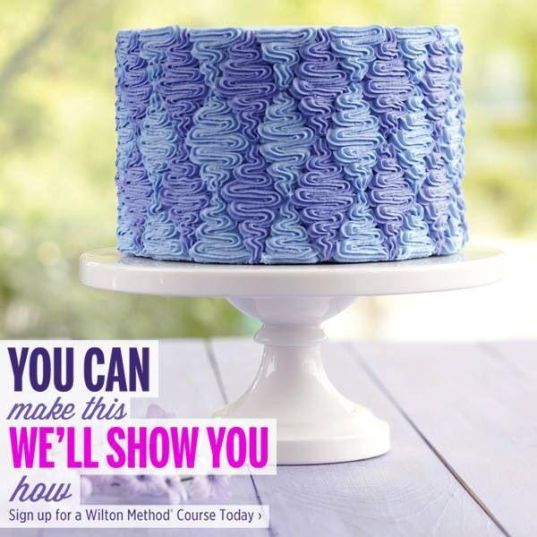 Les décorations de Wilton Cake Design !