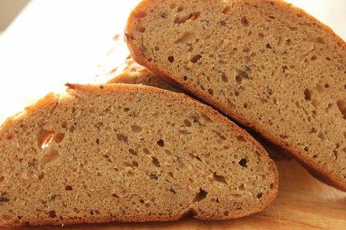 Литовский хлеб, малиновый уксус и черничный зефир. - СЛАДКОЕЖКА