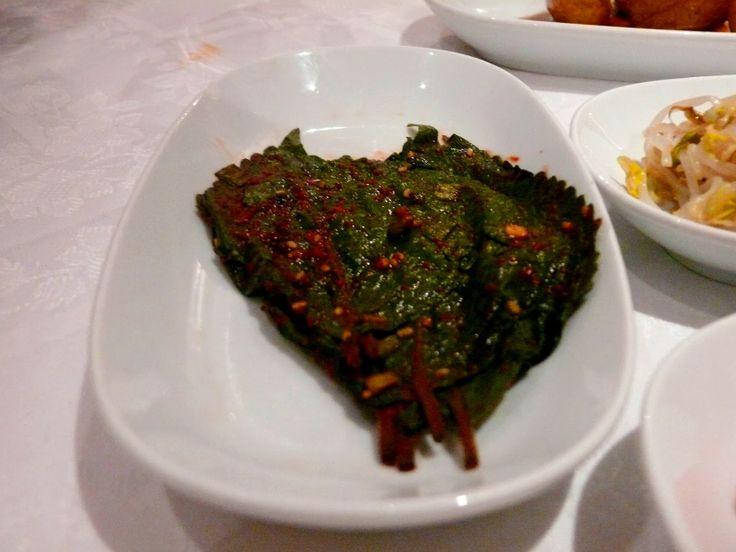 ESE OTRO MADRID GASTRONÓMICO Restaurante coreano Tulipán Hojas de pimienta verde fermentadas