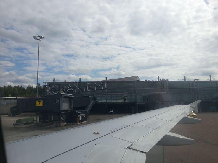 Lotnisko w Rovaniemi.