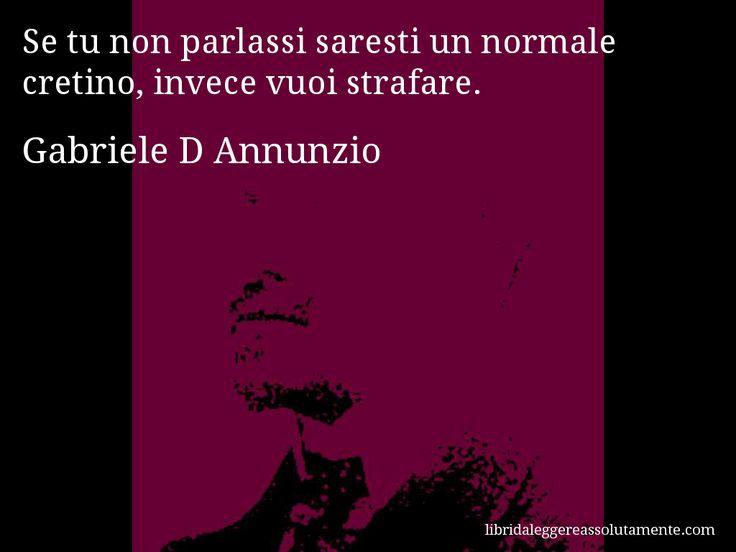 Cartolina con aforisma di Gabriele D Annunzio (12)