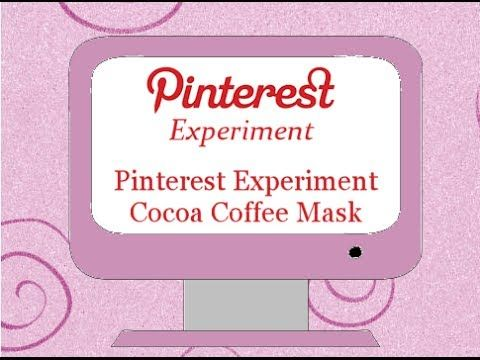 Today I decided to make me look all prettyful. I did a Pinterest Experiment the Cocoa Coffee Mask. http://www.mommyland.com/pinterest-experiment-cocoa-coffee-mask/