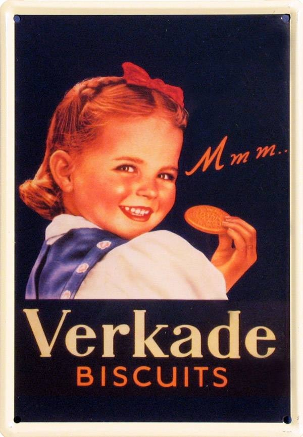 Verkade biscuit...my Mom worked for Verkade in the early 1950's .