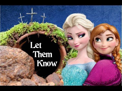 """Christian lyrics put to the famous """"Let it Go"""" song. Great for Christian """"Frozen"""" Fans!"""