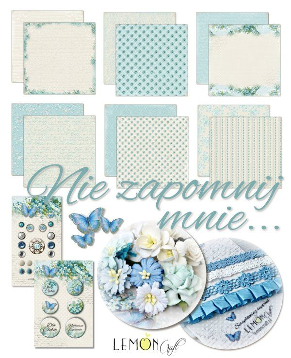 """Lemoncraft: """"Forget me not"""" collection."""
