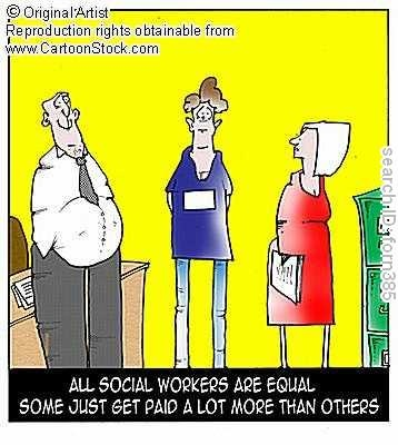 """As a welfare worker (not """"social worker"""") I feel this!!!!!"""