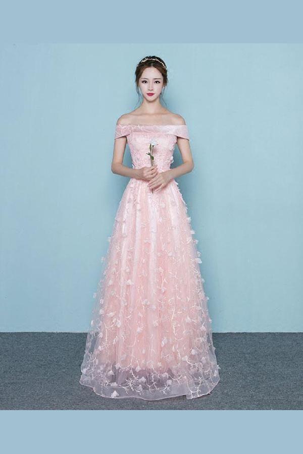 78f3a7ccfc Lace Prom Dress, Prom Dress Pink, Evening Dresses Long #LacePromDress  #PromDressPink #EveningDressesLong Prom Dresses 2019
