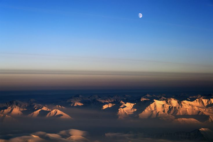 All sizes | Moon over northeast Greenland | Flickr - Photo Sharing!