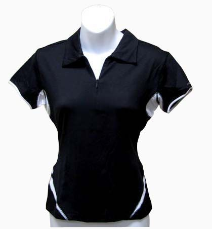 Embroidered polo shirts are a standard in uniforms and promotional shirts. There is a trend toward % polyester moisture wicking polo shirts, and we have found that the sales of these shirts are rapidly replacing the standard cotton polo.