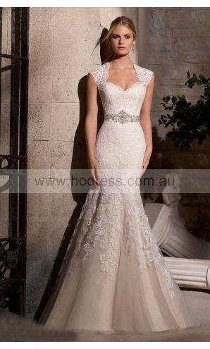 sku:afbf1043; Silhouette:Sheath; Hemline:Floor-length; Fabric:Tulle; Back Details:Buttons; Neckline:Square; Waist:Empire; Colour:Ivory; Sleeve Length:Cap Sleeves;