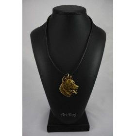 Necklase gilded with gold trial 999