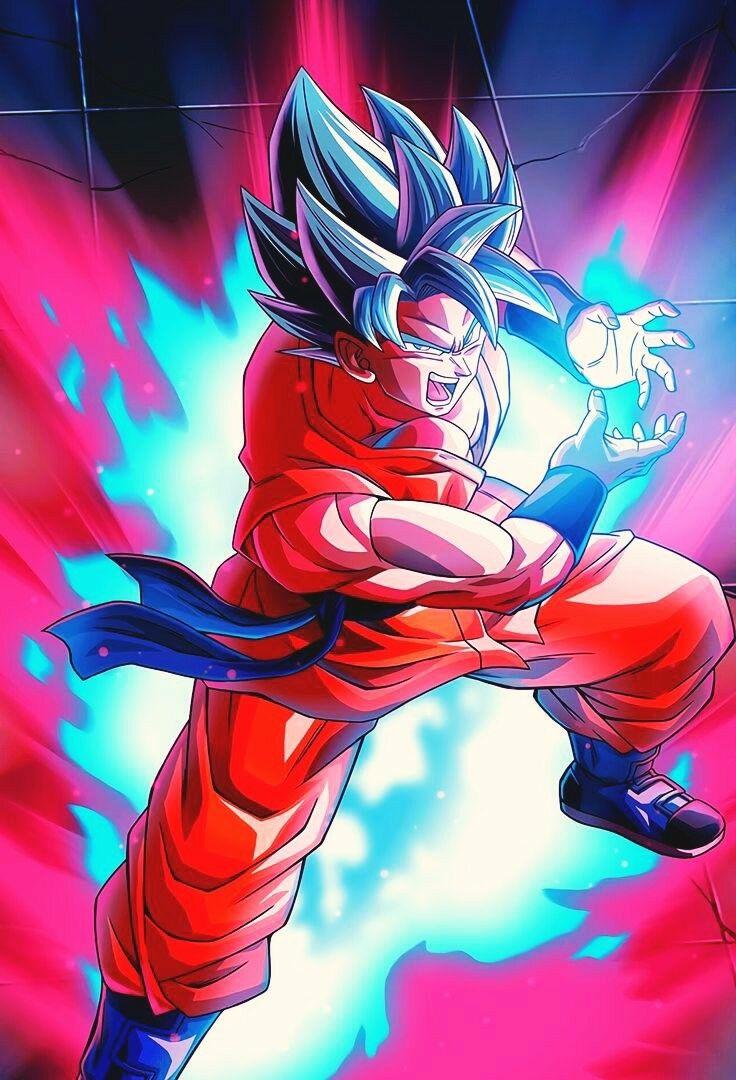 Ssj Blue Kaioken Dragon Ball Super Manga Anime Dragon Ball