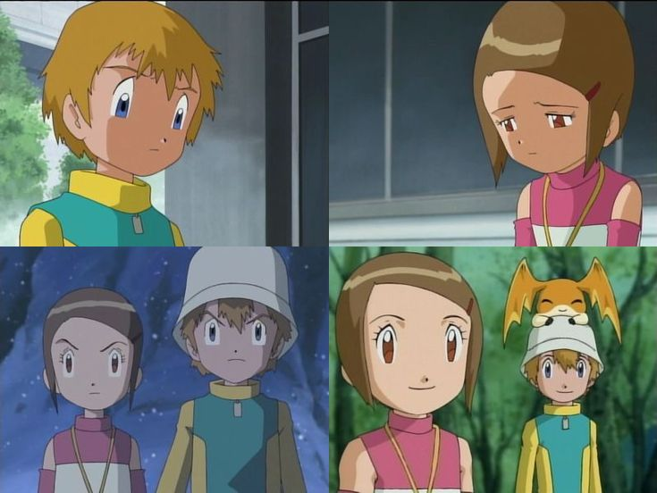 Bizarro! — Digimon Meme - 1/7 OTP's TK and Kari