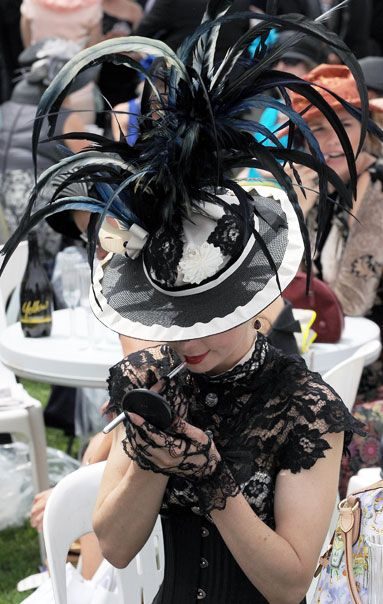 What a Hat! at the Melbourne Cup - images by Getty Images