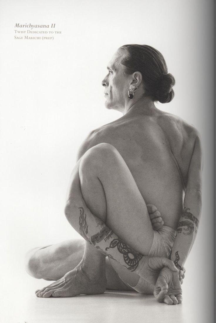 Marichyasana II-Yoga Journal 2008 pg. 312