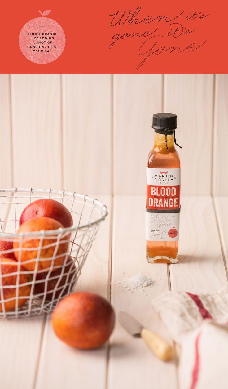Blood Orange - like adding a shot of sunshine into your day!