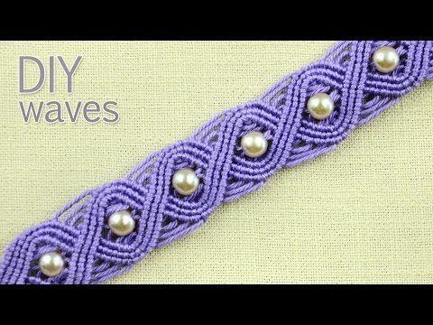 DIY Eternal Waves - Pandora Style Bracelet Tutorial - YouTube