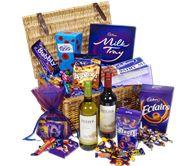 Cadbury Chocolate and Wine Hamper Someone buy me this