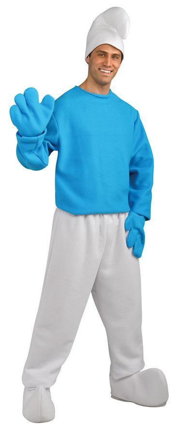 http://rubies.work/0343-sapphire-ring/ The Smurfs Movie Deluxe Smurf Costume Adult