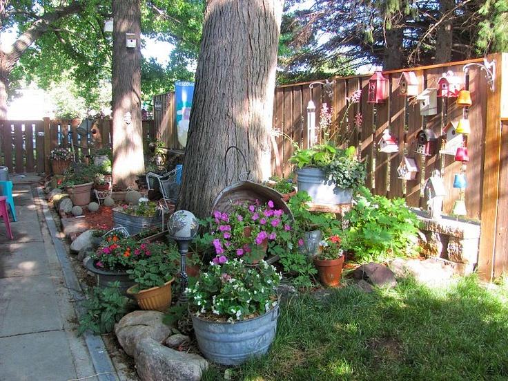 158 best garden makeovers images on pinterest | backyard ideas