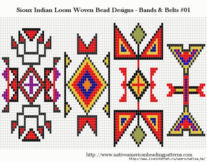 Häufig 427 best NATIVE AMERICAN SEEDBEAD PATTERNS images on Pinterest  PP81
