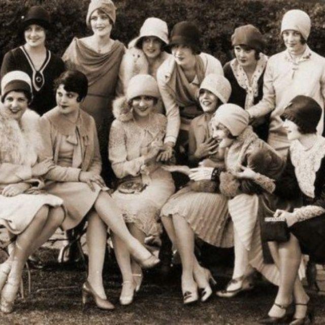 Tea party, London, 1920's