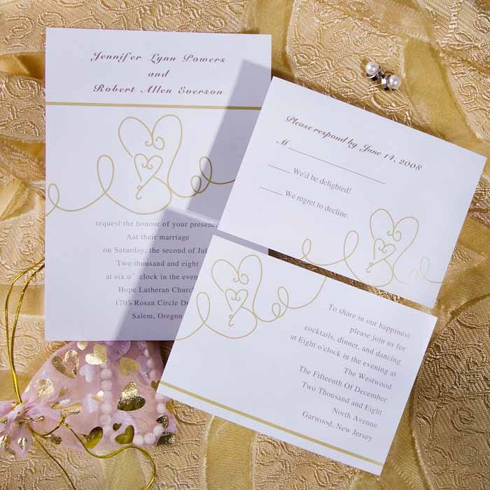 online wedding invitation free websites%0A Adorable Pattern In Hearts Wedding Invitations