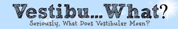 Vestibu...What? Vestibular processing explained in straight-forward terms.