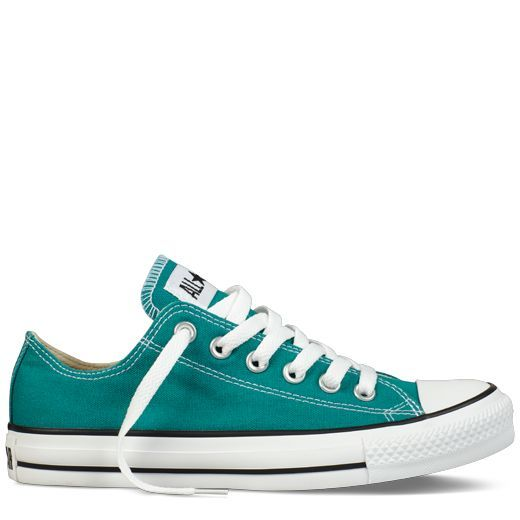 Converse - Chuck Taylor All Star - Low - Parasailing... 2 of my FAV things CONS & Teal