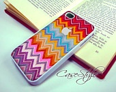 iPhone 4 case, iPhone 4s case, white case for iPhone 4, Chevron Carpet 003 . Includes 3 layers Screen protector.. Also available in Black . $9.99